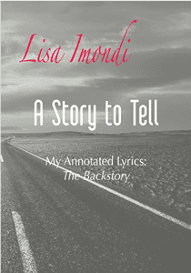 A Story to Tell - Lisa Imondi - Annotated Lyric Book Cover Icon